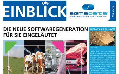 """Newsletter """"Einblick"""" Ausgabe Mai 2019"""